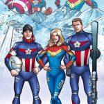 Képregényhősöknek öltöztek az amerikai olimpikon síelők