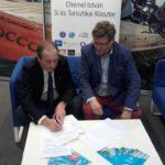 A Magyar Vitorlás Szövetség és klaszterünk együttműködési megállapodást írt alá az Boat Show kiállításon