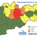 VÖRÖS RIASZTÁS: Hatalmas szélvihar várható az Alacsony-Tátrában! - Paraméter