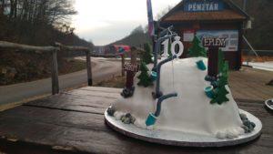 Eplényben a sípálya hava kitart a mai születésnapi rendezvényen is