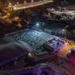 Mesébe illően néz ki a világ legnagyobb hó-útvesztője - Vezess.hu