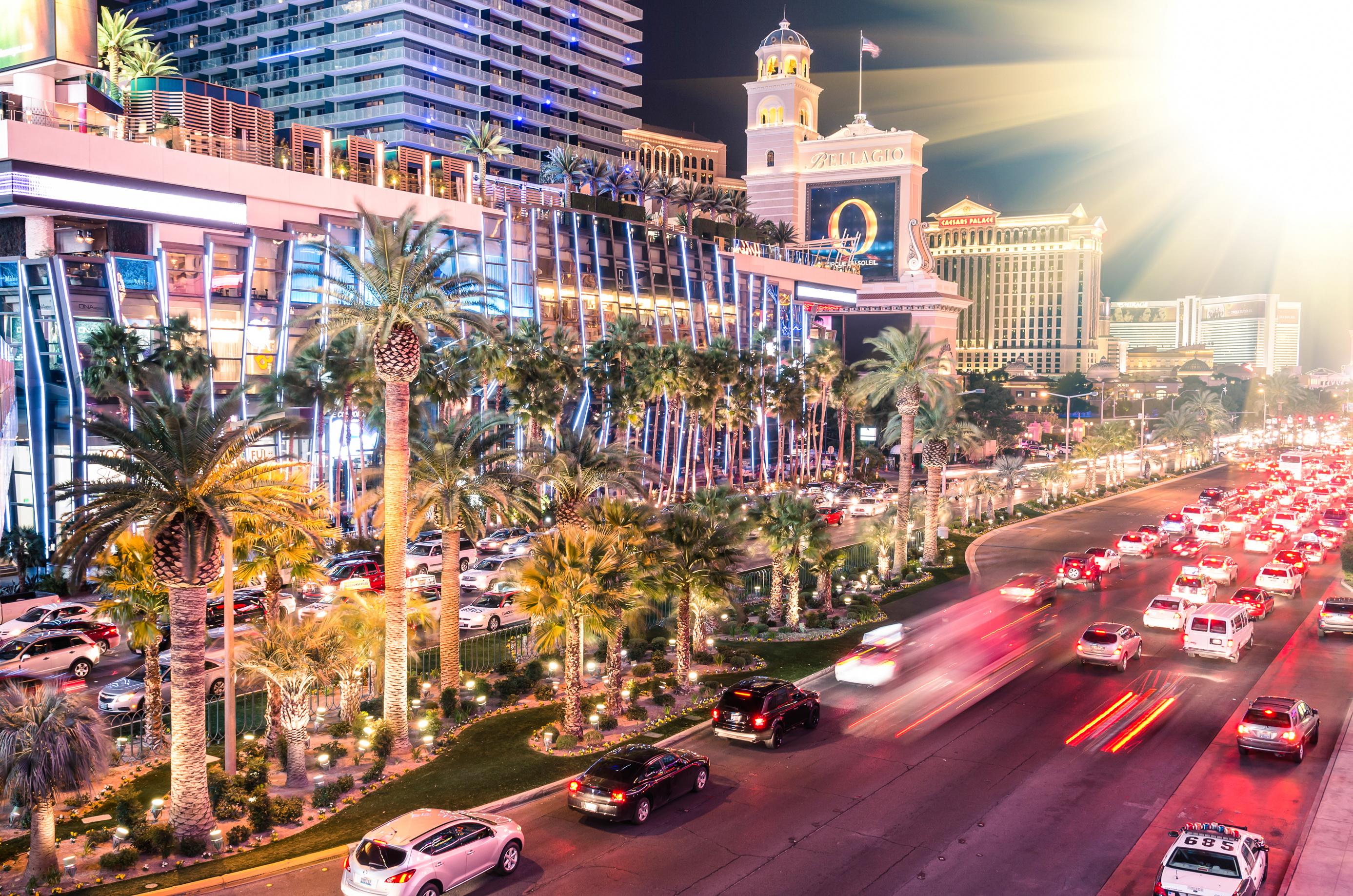Las Vegasban a sivatagi klíma decemberben is garantálja a kellemes, tavaszias időt / Fotó: Shutterstock