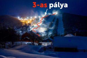 Az igen hideg éjszakában rengeteg havat tudtak gyártani a Síparkban, így holnap újabb hosszú pálya nyithat!