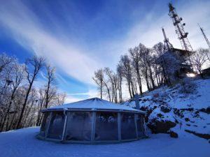 Ingyenes libegőzési lehetőség forró teával a Zemplén Kalandparkban