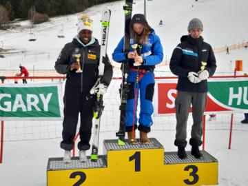 Magyar FIS verseny St. Lambrecht-ben