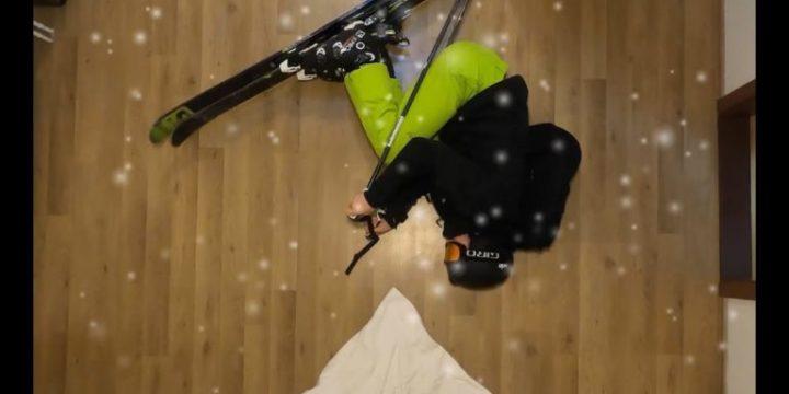 Mohácsi Marcellnek a most véget érő vészhelyzet és karantén alatt is jutott ideje síelni – itthon!