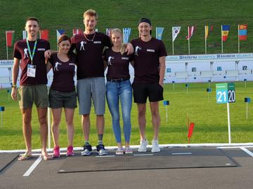 Síroller világkupán vettek részt biatlonosaink